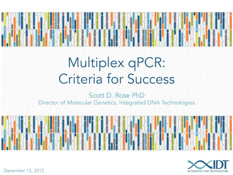 rhAmp SNP genotyping: A novel approach for improving PCR